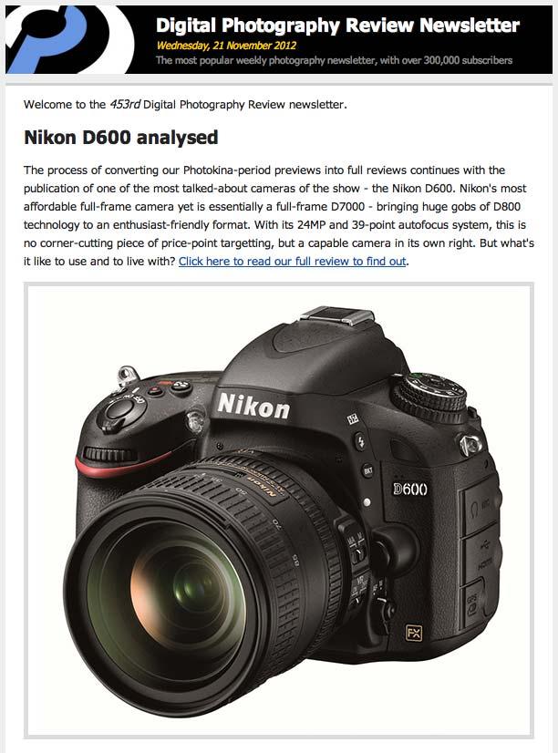 Nikon D600 – Revisión a fondo en Dpreview | Román Montesinos