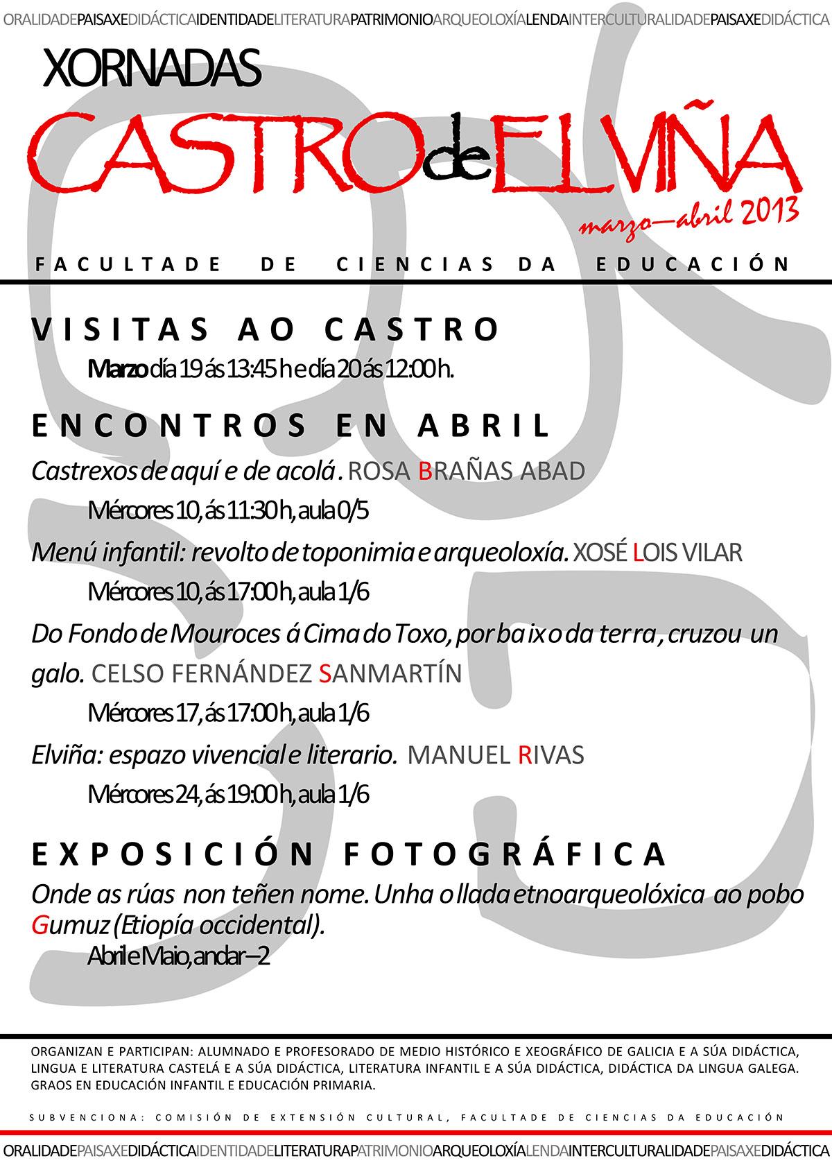 Cartel-Xornadas-Castro-de-Elvina