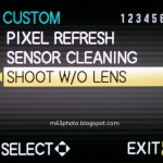 shoot without lens
