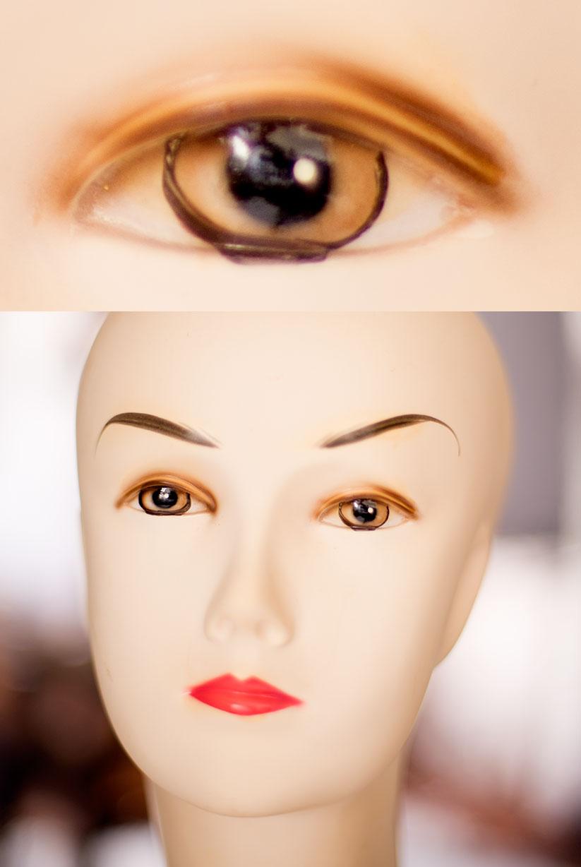 """Foto a diafragma f:1.4 La óptica desde luego no es la bella del baile pero con postproceso la """"cosa"""" se puede salvar. El ojo de encima es un recorte al 100%"""