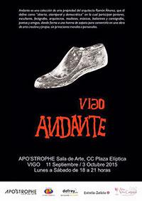 Participación en la colectiva de ANDANTE – Vigo